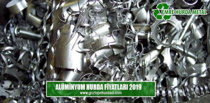 alüminyum hurda fiyatları 2019