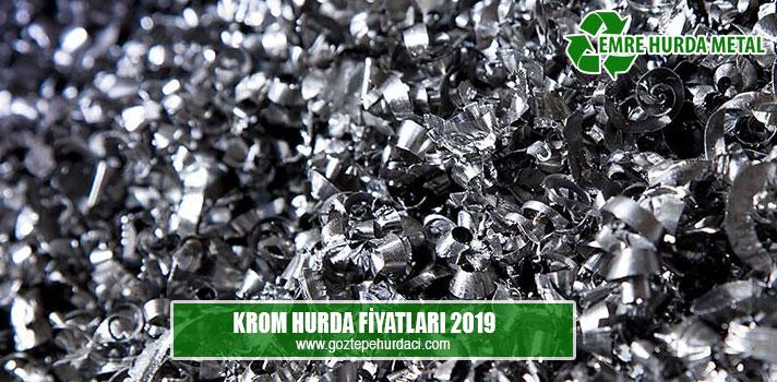 krom hurda fiyatları 2019